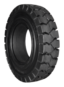 Soft Max solid rubber tires