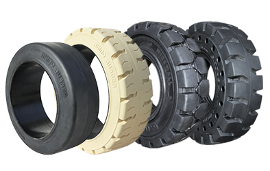 Complete Line of Rhino Rubber Tires | Call us at 877-744-6603